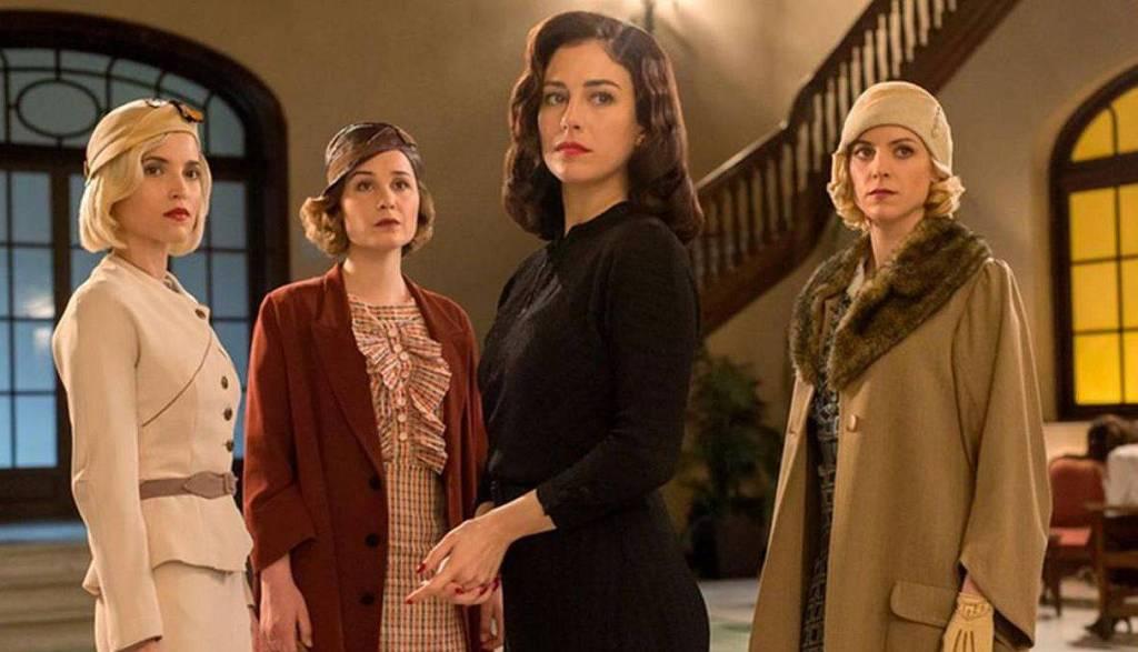 """""""Las chicas del cable"""" es una serie española que se sitúa en los años 30."""