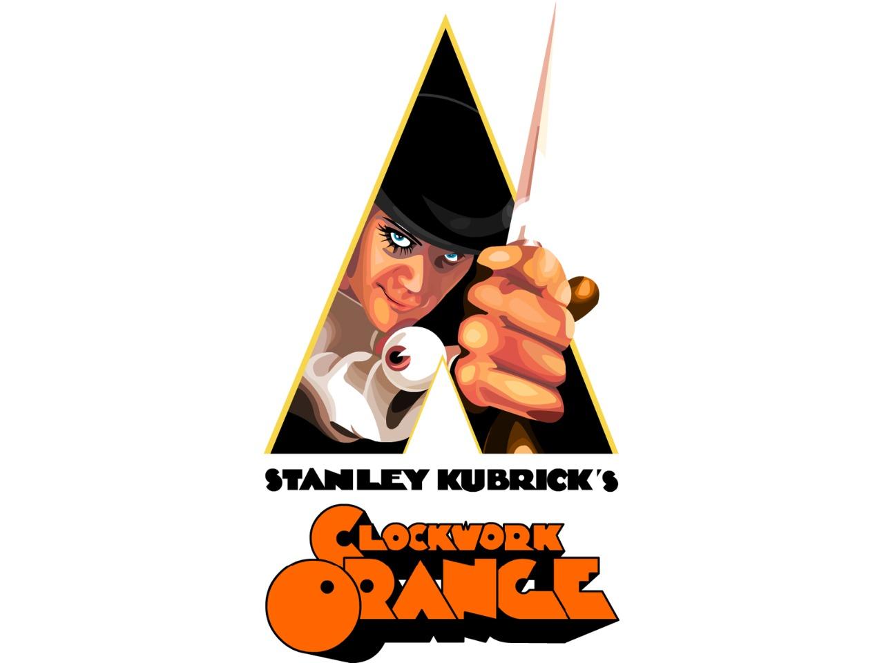 La Naranja Mecánica Clockwork Orange