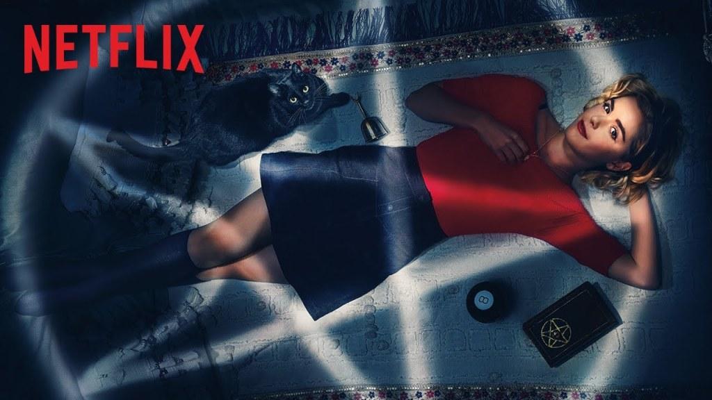 """""""Las escalofriantes aventuras de Sabrina"""" es una serie de Netflix que cuenta las aventuras de una de la brujas más famosas de todos los tiempos"""