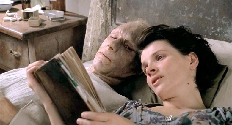 Juliette Binoche y Ralph Fiennes