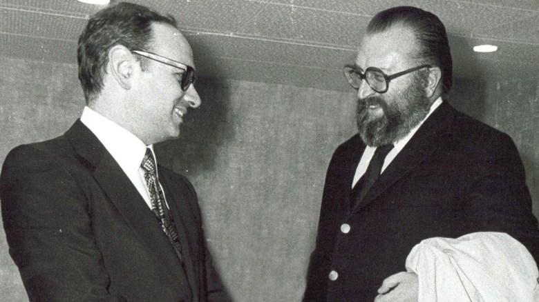 Ennio Morricone y Sergio Leone