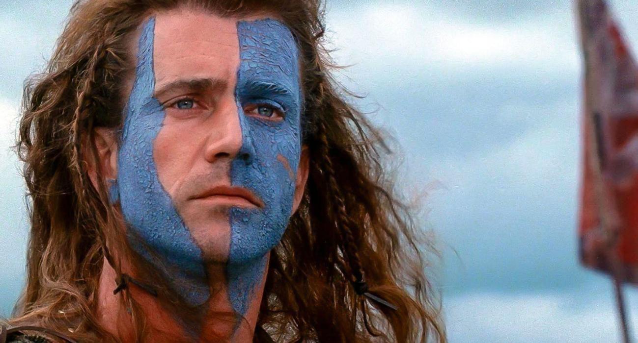Imagen de Mel Gibson en Braveheart