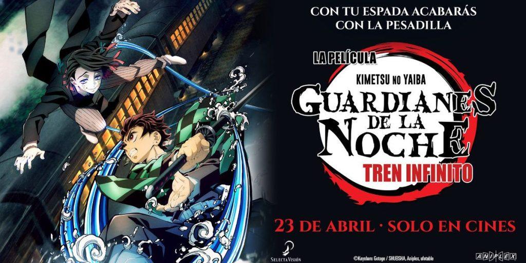 Cartel promocional de Guardianes de la noche: Tren infinito